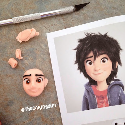 diy how to make big hero 6 figurine tutorial