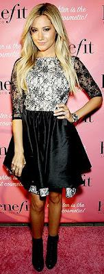 Ashley Tisdale, Alice + Olvia, NYFW