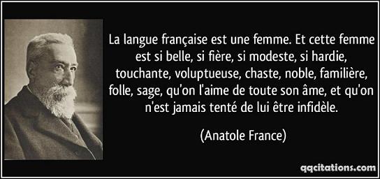 Qu'est-ce que la langue française ?