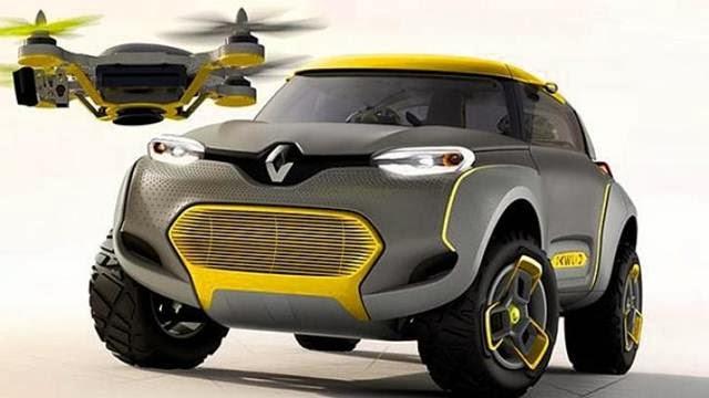 drone built-in dengan mobil