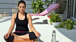 Indian Actress Yoga Photos | Yoga Day