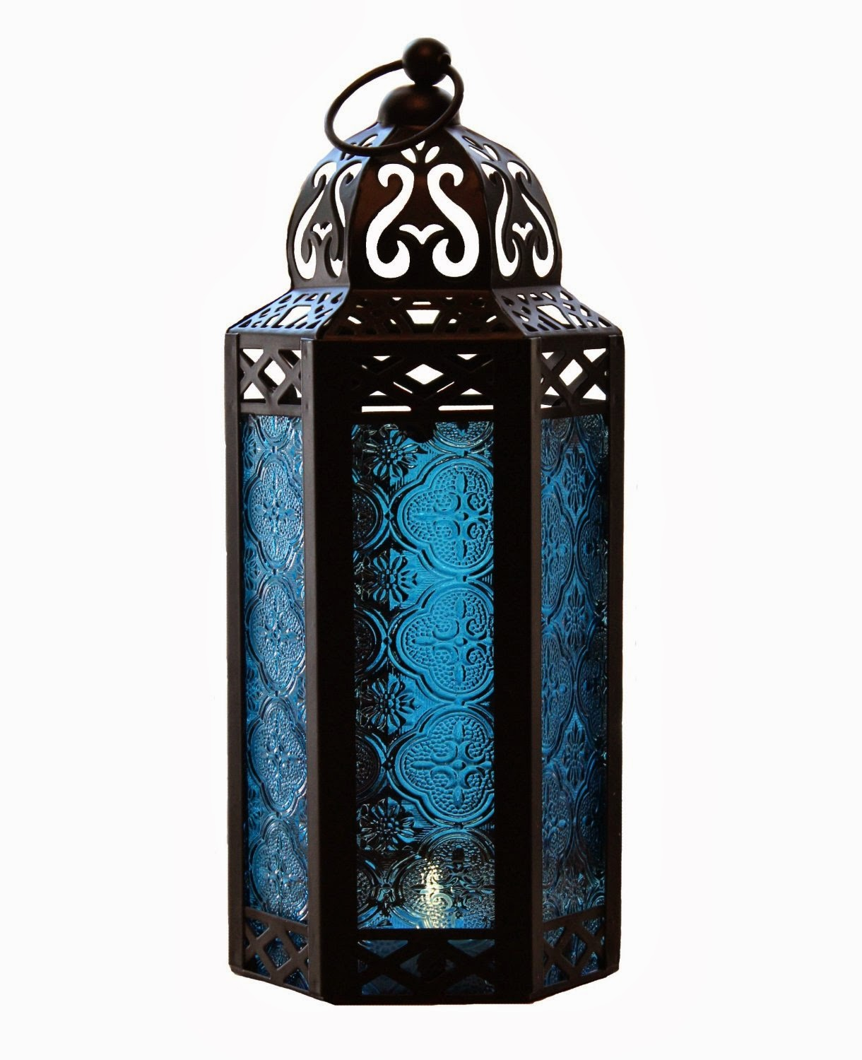 Garden Lighting: Moroccan Candle Lantern