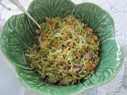 Broccoli Slaw - Page 55 - Two Sisters and the Silver Spoon Cookbook