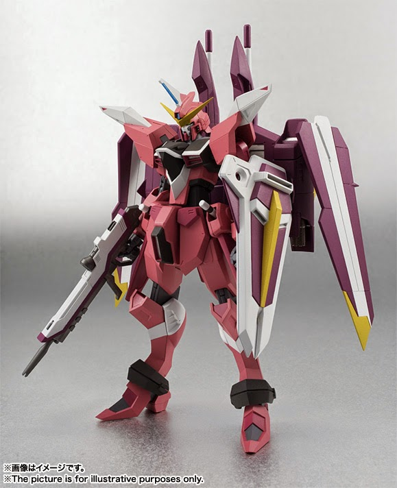 gundam seed justice action figure