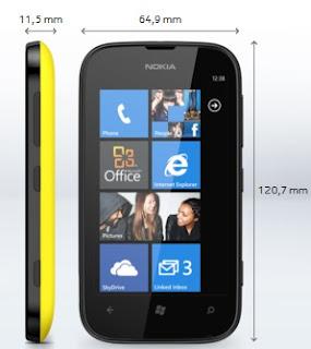 gambar nokia lumia 510 windows phone prosesornya lumia murah ini