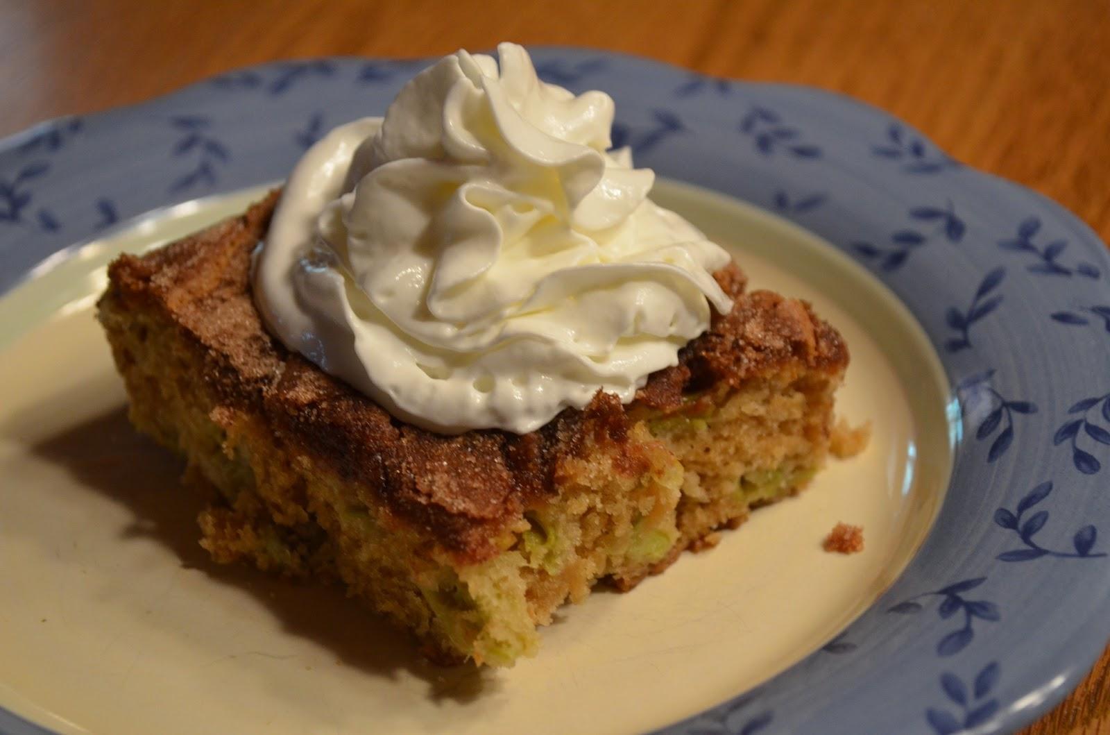 Recipe rhubarb coffee cake sour milk