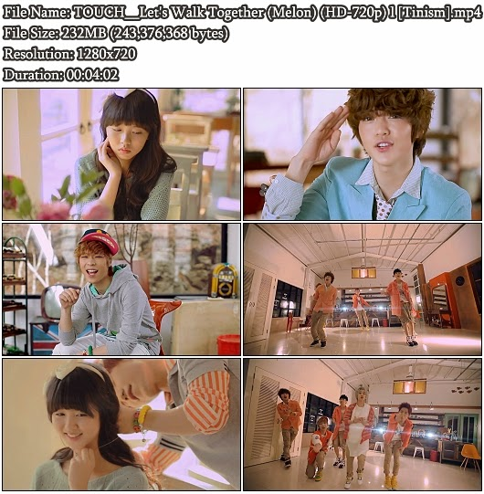 Download MV TOUCH (터치) - Let's Walk Together (같이 걷자) (Melon HD 720p)
