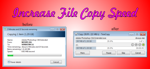 How to Increase File Copy Speed in Windows