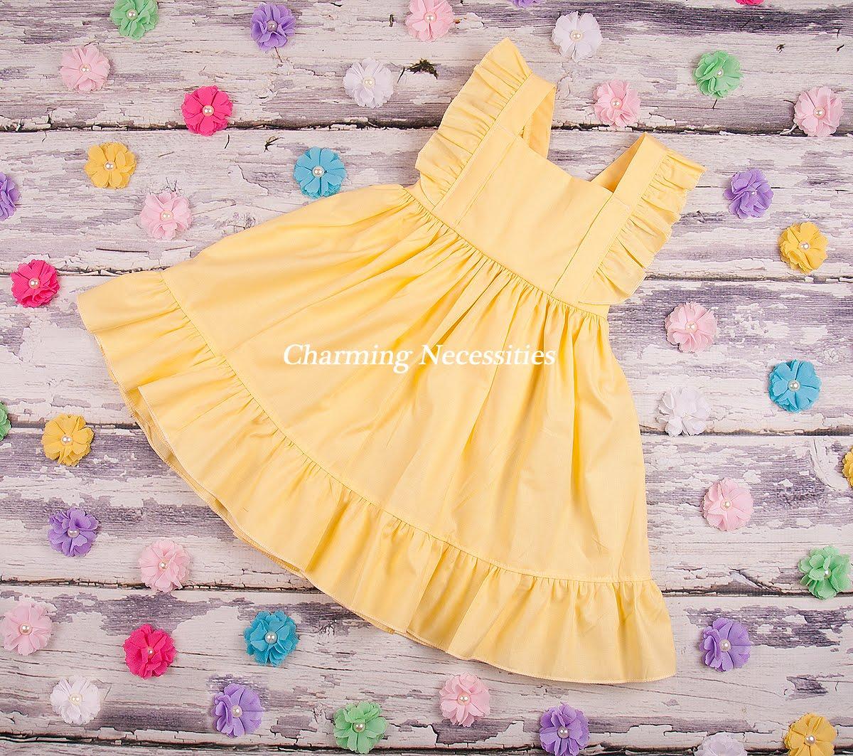 Heirloom Flutter Sleeve Dresses