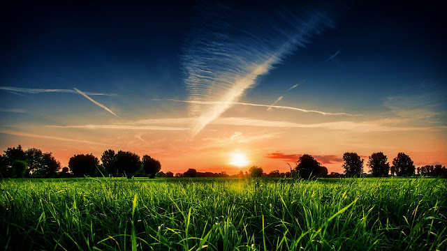 Sun Charm The World HD Wallpaper