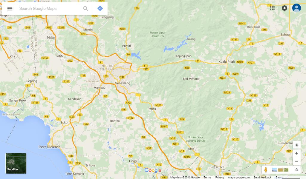 ZMT Coverage - N.Sembilan (West)