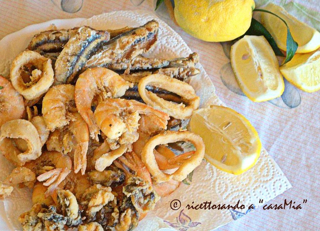 Fritto misto di pesce ricetta secondi di pesce