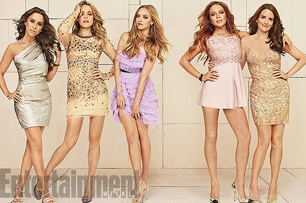 """Stars of """"Mean Girls"""" for Entertainment Weekly"""