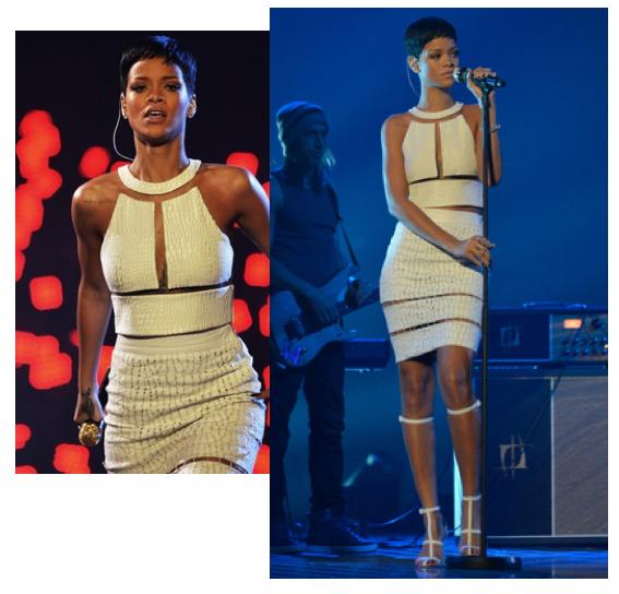 Wang Rihanna Rihanna in Alexander Wang