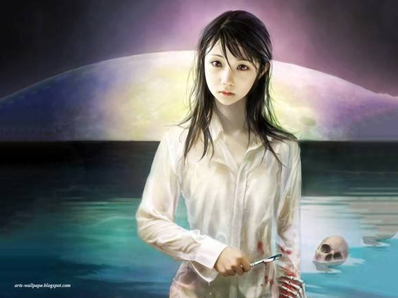 CG Art Wallpaper I Chen Lin Artwork 20