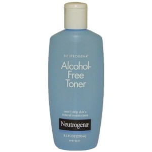 neutrogena alcohol free toners