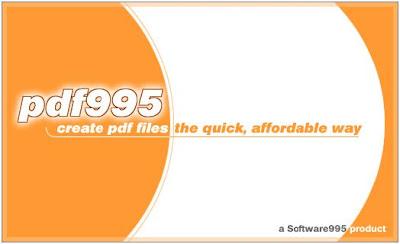 PDF995 Print As PDF Driver
