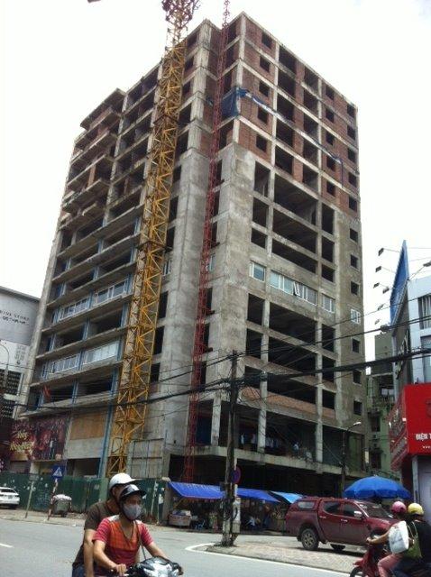 dự án, chung cư, cao cấp, 131 Thái Hà, kinh doanh, bỏ hoang, nhếch nhác, Sở Xây dựng, thu hồi, chủ đầu tư, UBND, Hà Nội