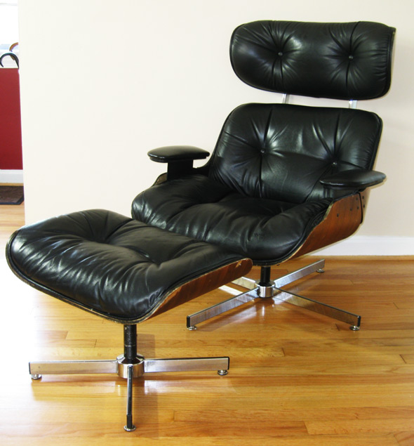 Gotcha modern selig mid century lounge chair the eames alternative - Selig eames chair ...