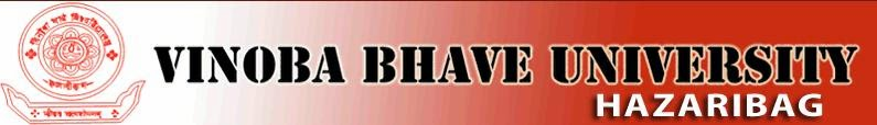 Vinoba Bhave University 2014 Results