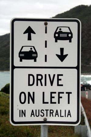 Countries Driving on the Left