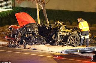 Foto1 Kecelakaan Paul Walker