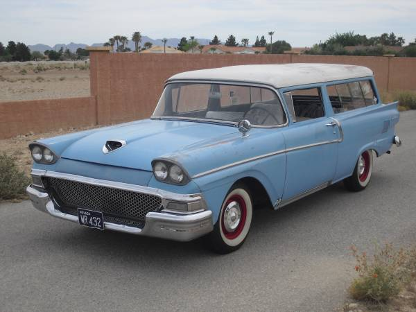 1958 ford 2 door ranch wagon auto restorationice for 1955 ford 2 door wagon