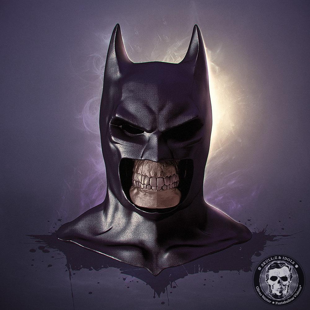 Skullified version of Batman