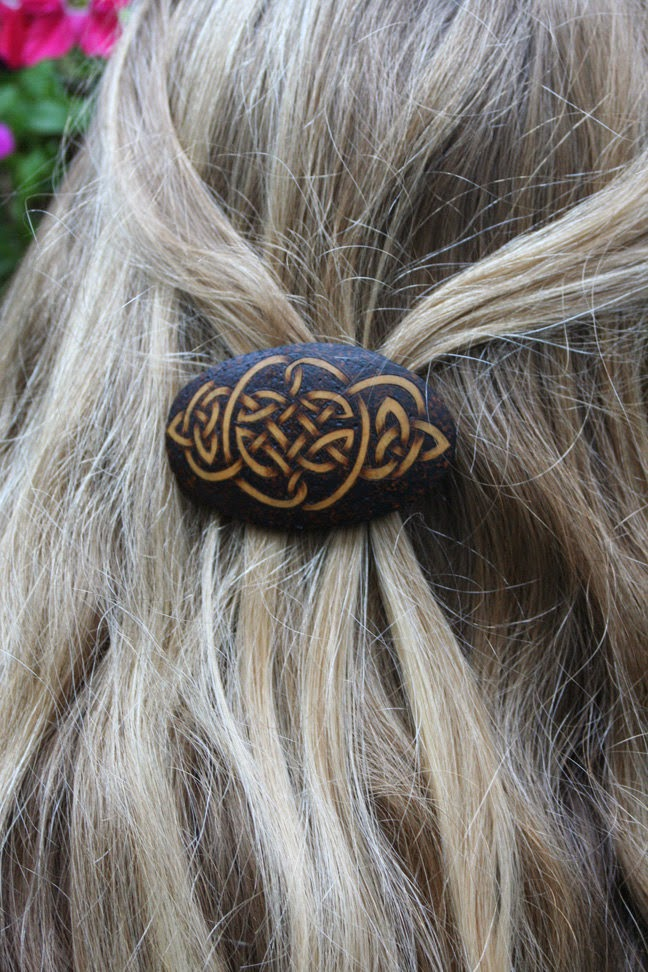 https://www.etsy.com/listing/165991296/gourd-barrette-celtic-knots-pyrography