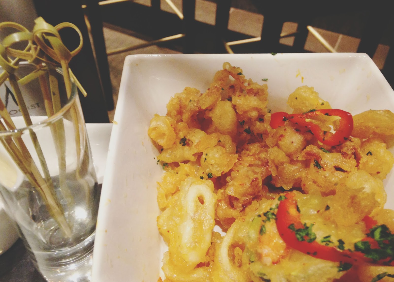 houston food drinks calamari tuck room restaurant 11