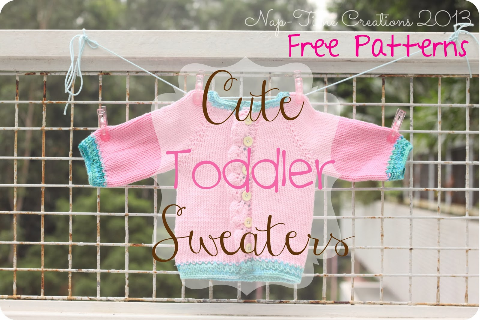 Knitting Patterns For Sweaters For Toddlers : Baby Sweaters Free Knitting Patterns - Life Sew Savory