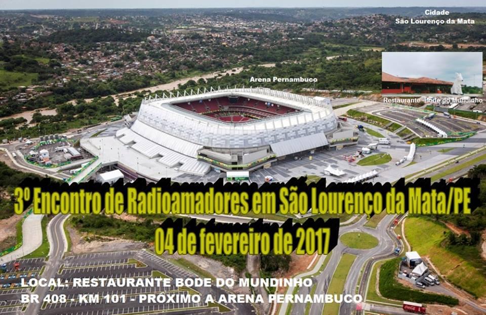 3º ENCONTRO DE RADIOAMADORES EM SÃO LOURENÇO DA MATA = PE