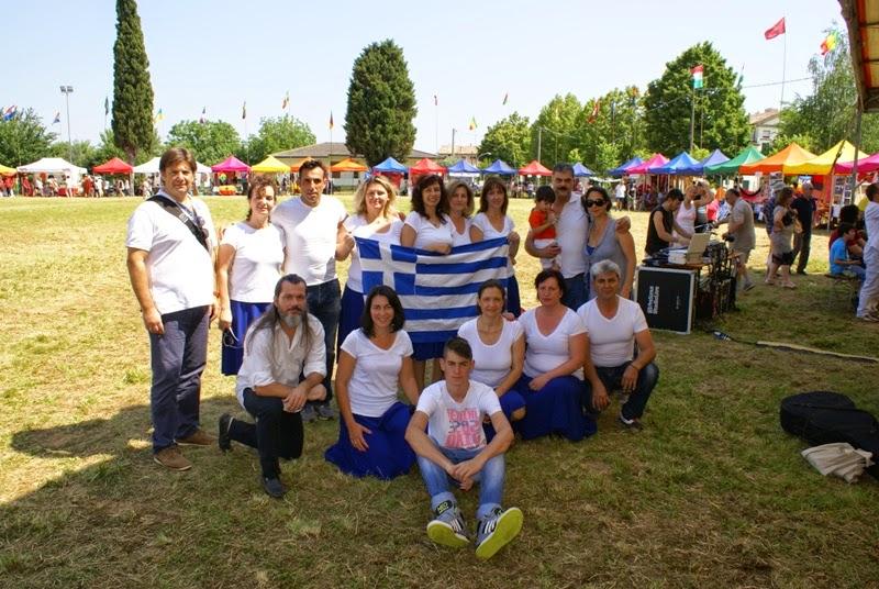 Ιούνιος 2014 στο Διεθνές Φεστιβάλ στην επαρχία Βένετο