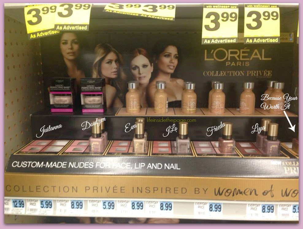 Department: Beauty | L'Oreal Privee Collection |Rite-Aid 40% off Sale | Nail Polish