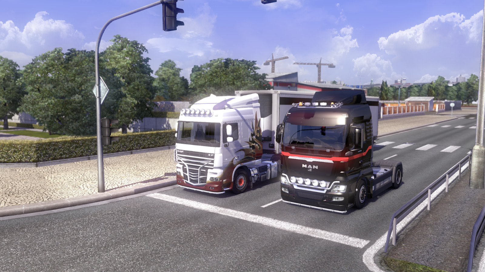 Download Games Euro Truck Simulator 2 v1.12.1 (15 DLC)