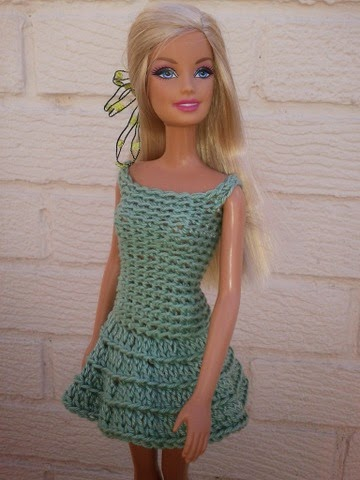 Linmary Knits Barbie Crochet Dresses And Bag
