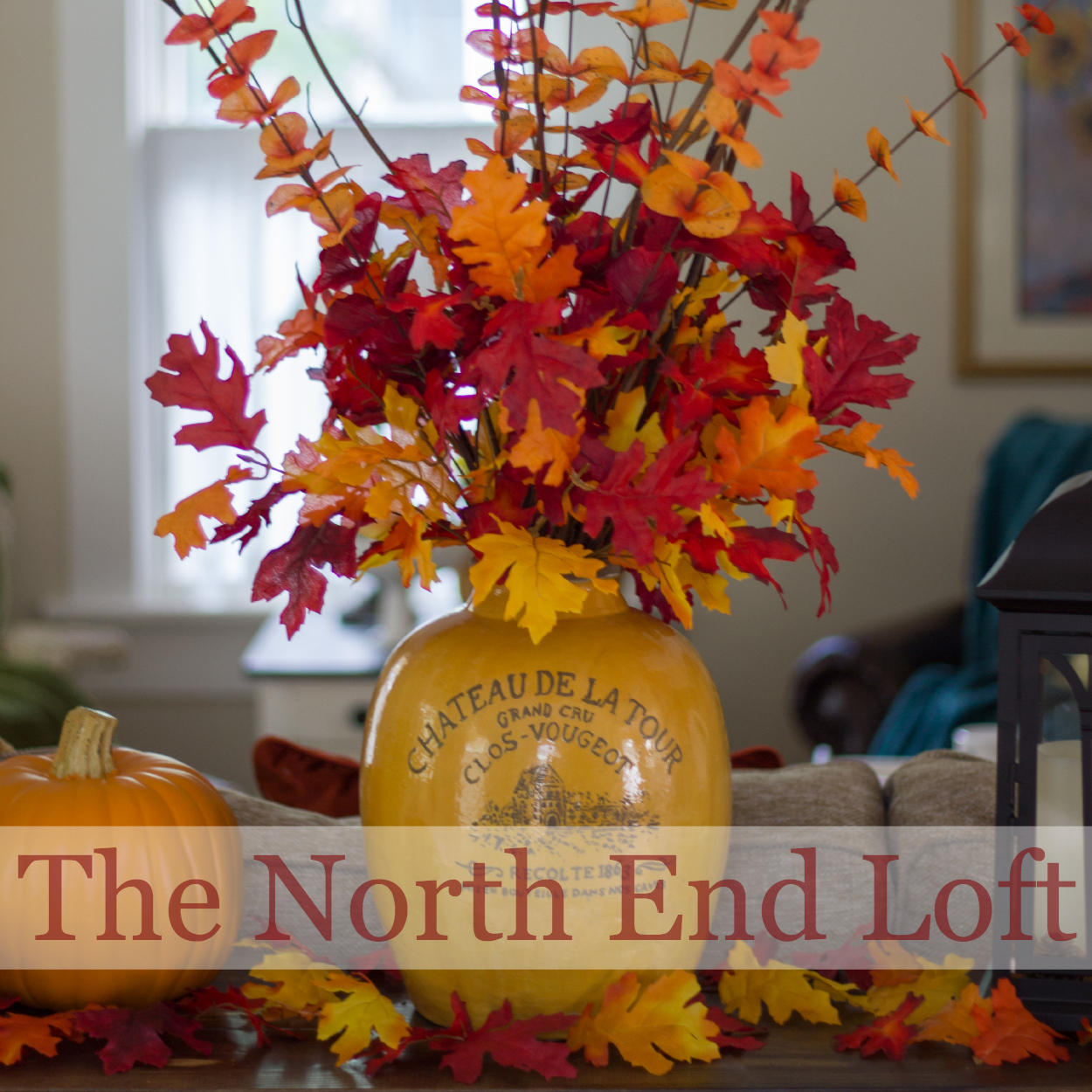 The North End Loft Living Room Updates And Fall Decor