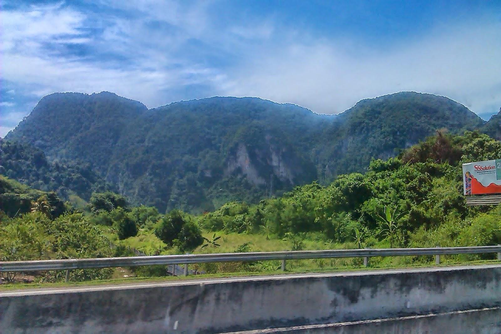 Malaysia,Mountain Ranges
