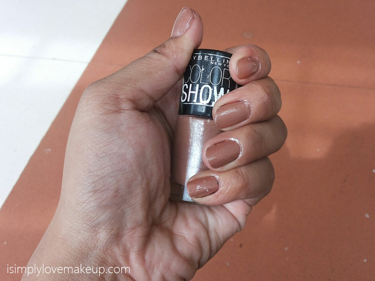 Maybelline Colorshow Nail Paint In Silk Stockings