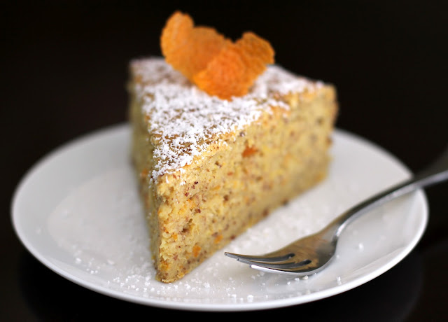 Healthy Whole Orange Almond Cake