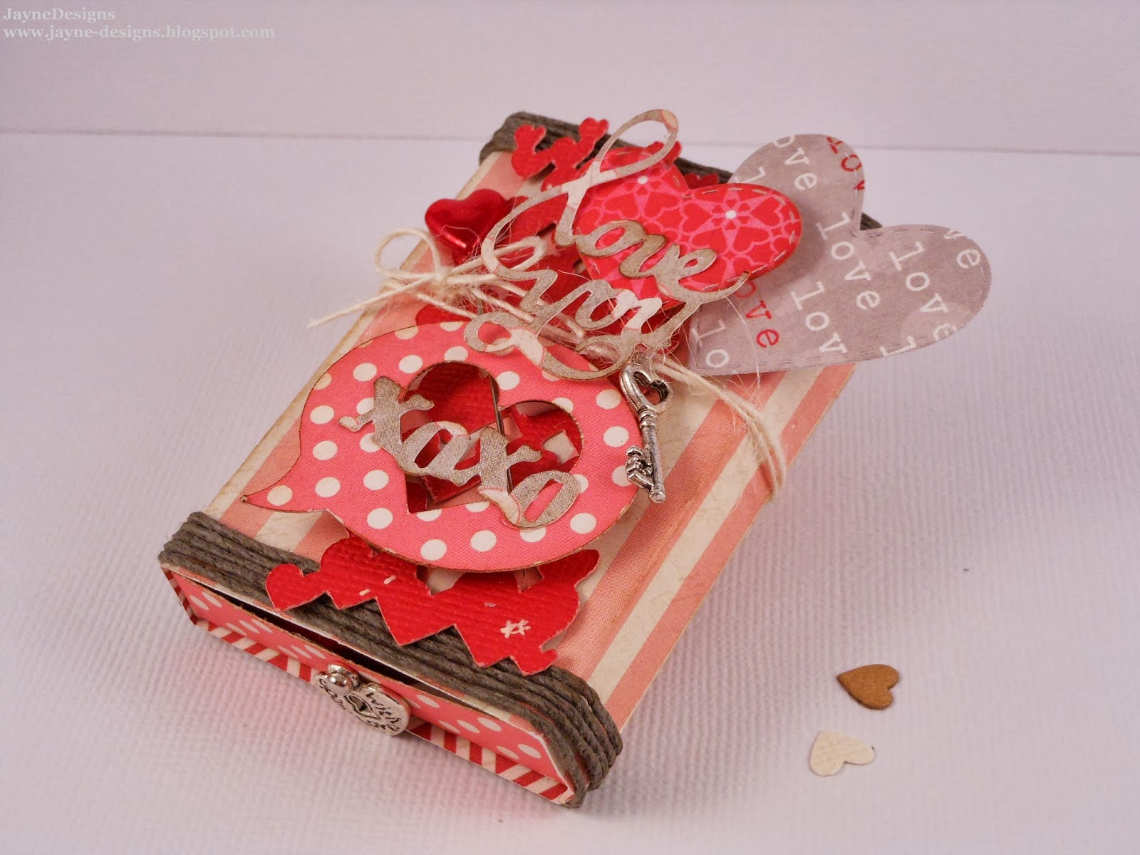 JayneDesigns: BBTB2 - Valentine Match Box