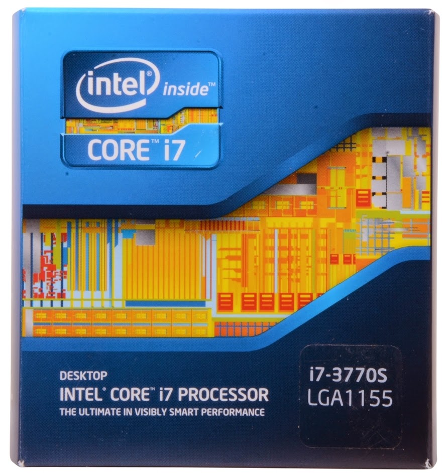 Коробка процессора Intel Core i7-3770S