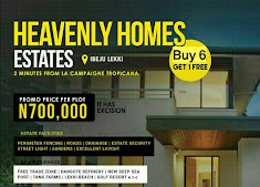 PROMO AT HEAVENLY ESTATE IBEJU LEKKI ...Buy 6 Plots And Get 1 Plot For Free