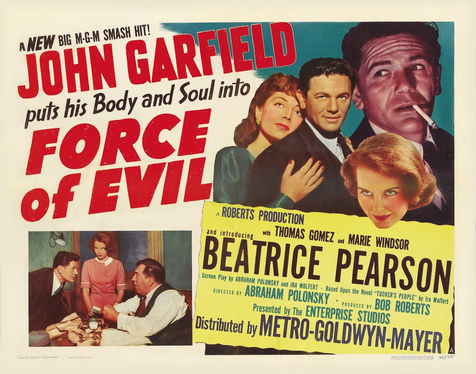 Las ultimas peliculas que has visto - Página 3 Force+of+Evil