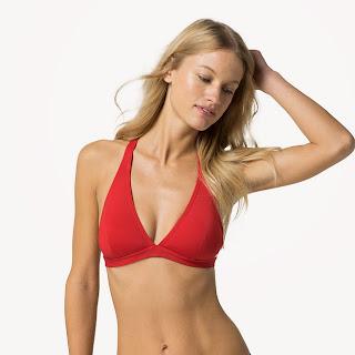 sujetador bikini cuello halter