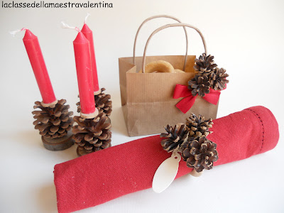 La classe della maestra valentina decorazioni per la tavola di natale - Decorazioni per la tavola di natale ...