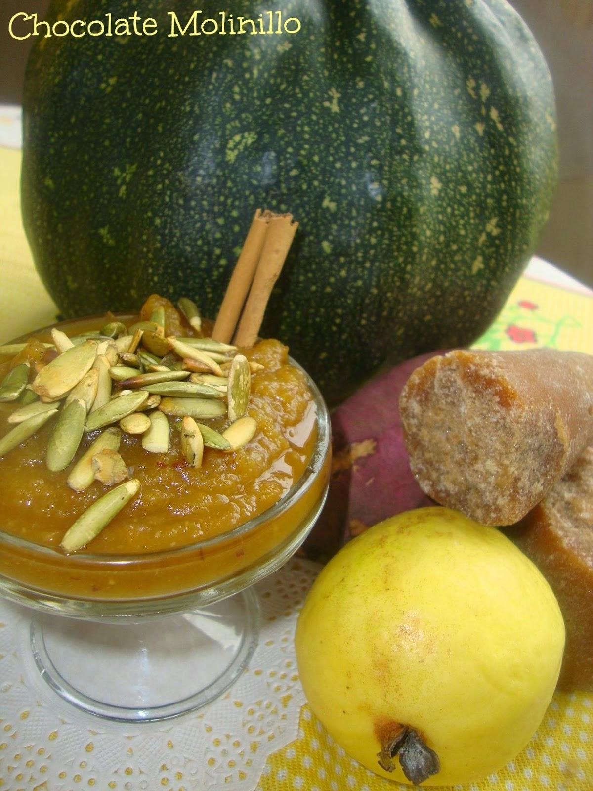 Dulce de Calabaza, Camote y Guayaba