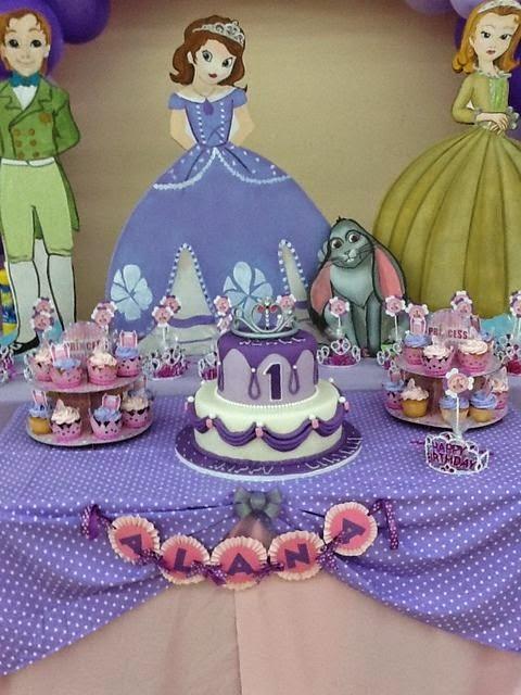 Fiesta Temática de la Princesa Sofía : Fiestas Infantiles Decora