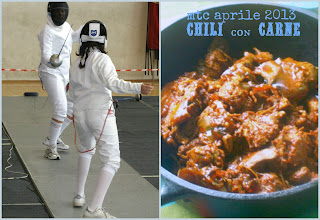 due presidi slow food nel chili vegetariano per l'mtc di aprile.