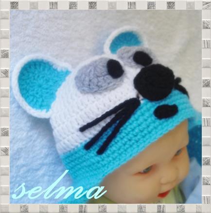 Как с вязать малышу шапку